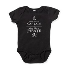 Work Like a Captain, Play Like a Pirate Baby Bodys