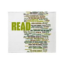 Unique Reading Throw Blanket