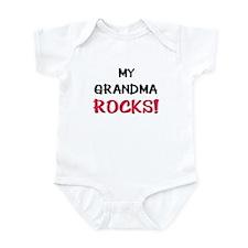 My GRANDMA ROCKS! Infant Bodysuit