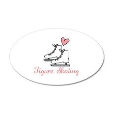 Figure Skating Wall Decal