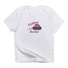 Curling Rocks Infant T-Shirt