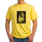 Opohelia & Tri Cavalier Yellow T-Shirt