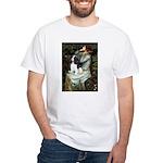 Opohelia & Tri Cavalier White T-Shirt