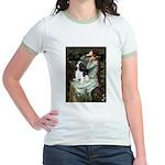 Opohelia & Tri Cavalier Jr. Ringer T-Shirt