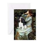 Opohelia & Tri Cavalier Greeting Cards (Pk of 10)