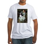 Opohelia & Tri Cavalier Fitted T-Shirt