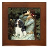 Opohelia &amp; Tri Cavalier Framed Tile