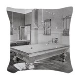 Billiards pool Woven Pillows