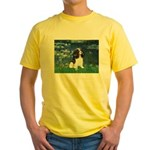 Lilies (5) & Tri Cavalier Yellow T-Shirt
