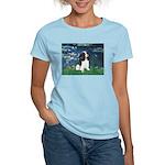 Lilies (5) & Tri Cavalier Women's Light T-Shirt