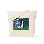 Lilies (5) & Tri Cavalier Tote Bag