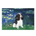 Lilies (5) & Tri Cavalier Postcards (Package of 8)