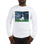 Lilies (5) & Tri Cavalier Long Sleeve T-Shirt