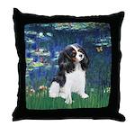 Lilies (5) & Tri Cavalier Throw Pillow