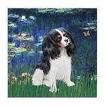 Lilies (5) & Tri Cavalier Tile Coaster