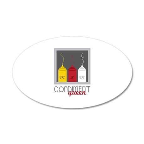 Condiment Queen Wall Decal