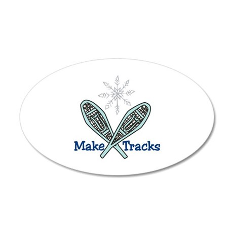 Make Tracks Wall Decal