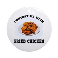 Comfort Fried Chicken Ornament (Round)