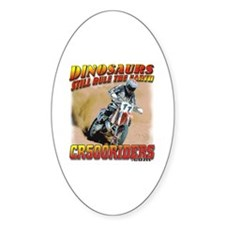 CR500Riders dino print Decal