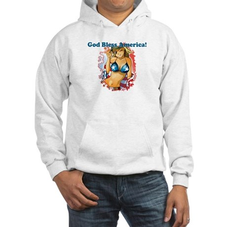 God Bless America Hooded Sweatshirt