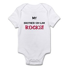 My BROTHER-IN-LAW ROCKS! Infant Bodysuit