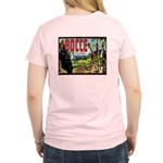 Women's Pink Bocce T-Shirt