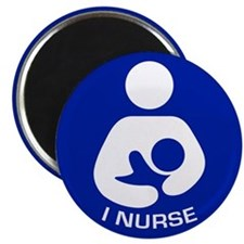 "Breastfeeding: I Nurse 2.25"" Magnet (100 pack)"