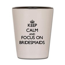 Unique Bridesmaids Shot Glass