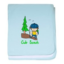 Cub Scout baby blanket