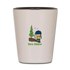 Born Climber Shot Glass