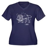 Leo (Celestial) Zodiac Women's Plus Size V-Neck Da