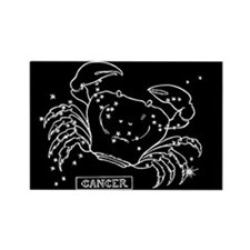 Cancer (Celestial) Zodiac Rectangle Magnet