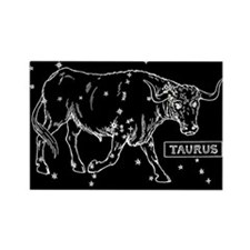 Taurus (Celestial) Zodiac Rectangle Magnet