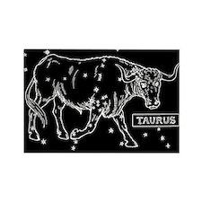 Taurus (Celestial) Zodiac Rectangle Magnet