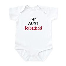 My AUNT ROCKS! Infant Bodysuit