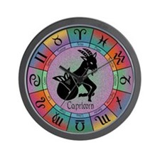 Capricorn the Goat Wall Clock
