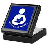 Breastfeeding: Breast Is Best Keepsake Box