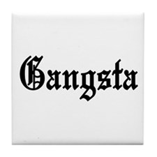 Gangsta Tile Coaster