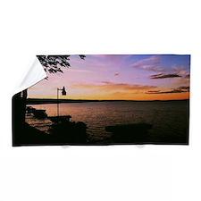 Michigan Sunset Beach Towel