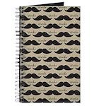 Mustache Vintage Retro Journal