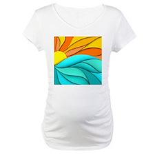 Abstract Ocean Sunset Shirt