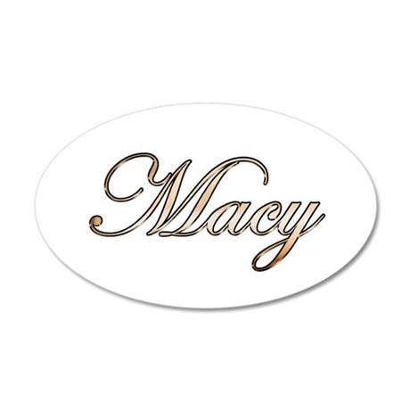 Macy 35x21 Oval Wall Decal