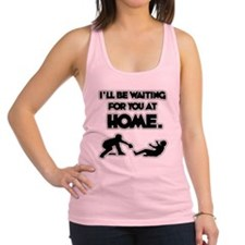 WAITING Racerback Tank Top