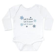Cool Songs Long Sleeve Infant Bodysuit