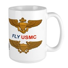 F-4 Phantom Ii Vmfa-122 Werewolves MugMugs