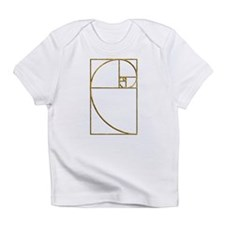 Golden Ratio Sacred Fibonacci Spiral Infant T-Shir