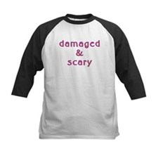 Damaged & Scary Kids Baseball Jersey