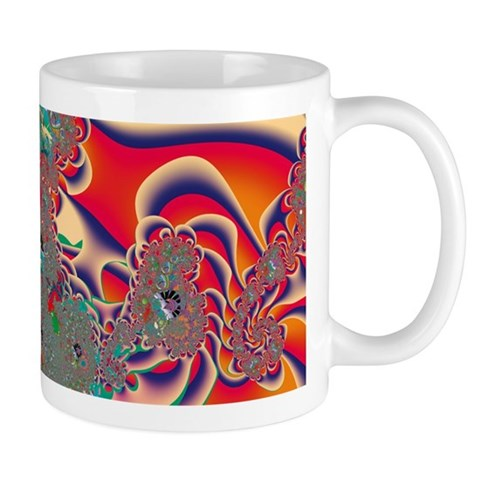Red Meditation Mugs