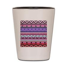 Aztec Design Shot Glass