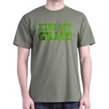 Kiss My Grass Gardening T-Shirt